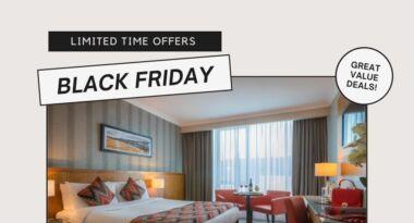 White Modern Black Friday Discount Facebook Post 2